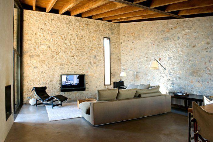 Dekosteine wand wohnzimmer sessel sofa wohnzimmerteppich pinterest wohnzimmer sessel - Deko wande wohnzimmer ...