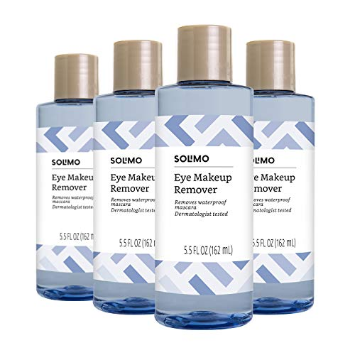 Amazon Brand Solimo Eye Makeup Remover, Removes