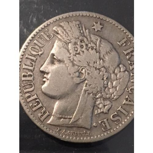 former small french coin worth 3 deniers