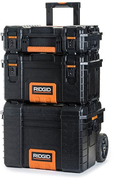 ridgid pro tool boxes stacked | 工具箱 in 2018 | pinterest | tools ...