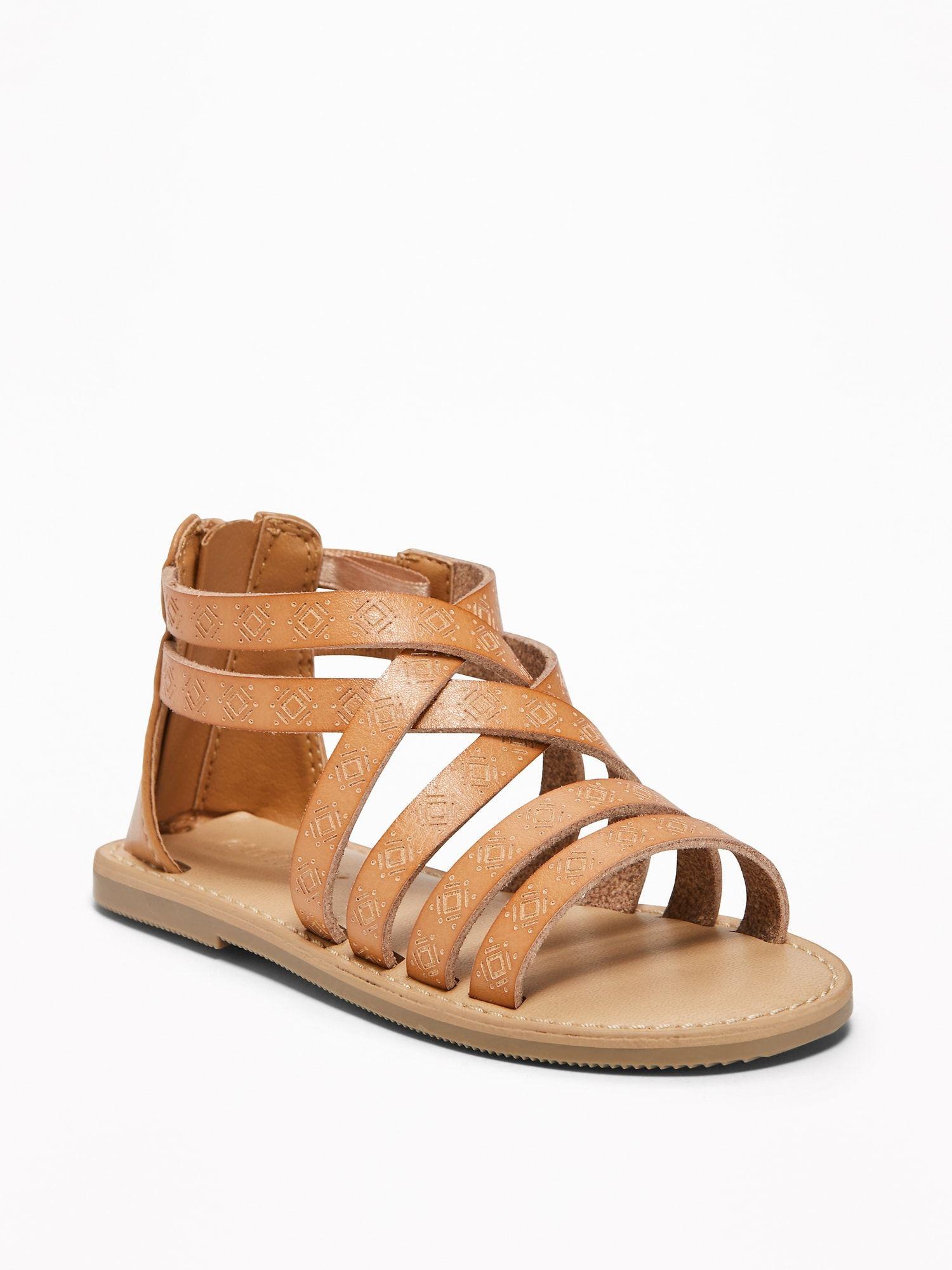 Gladiator Sandals for Toddler Girls