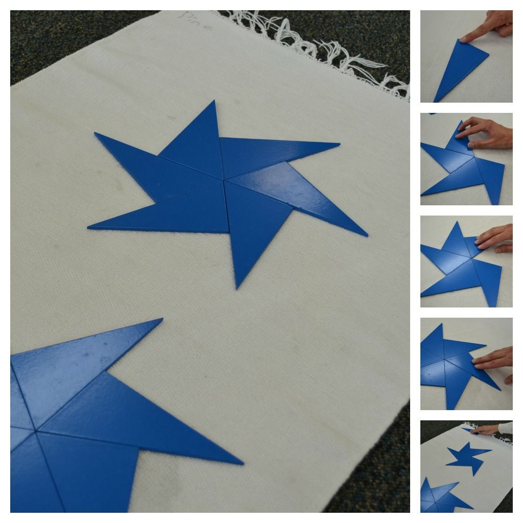 Intro To Math For Kids Triangle Stars