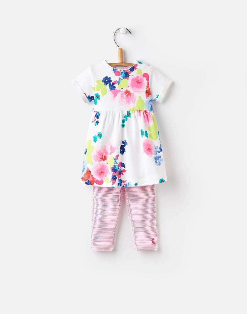60d0f233f Joules 124741 Baby Girls Dress and Legging Set in Ocean Bloom Floral Stripe  | Baby, Clothes, Shoes & Accessories, Girls' Clothing (0-24 Months) | eBay!