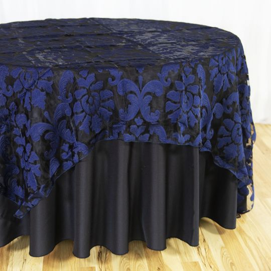 118 in. Round Anastasia Sheer Tablecloth   Table cloth, Luxury ...