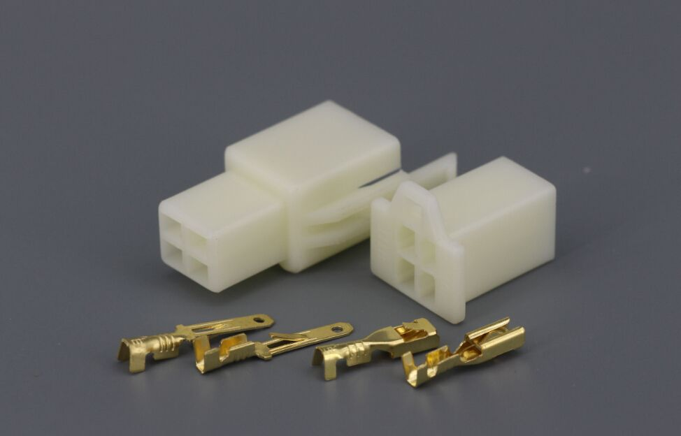 50 Sets/Kit 2.8-4 Pin/way DJ7041A-2.8 Electrical Wire Connector Plug ...