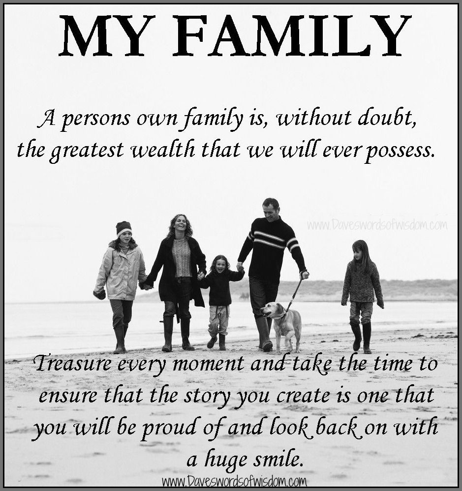 I Love My Little Family | Life quotes family, Family quotes ...