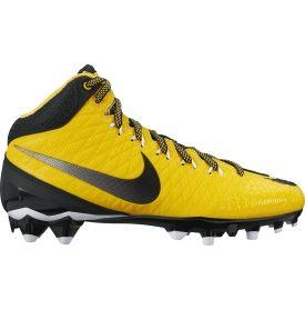 Nike Kids  CJ Strike 3 TD Mid Football Cleats - Yellow Black ... 8cd162ad3