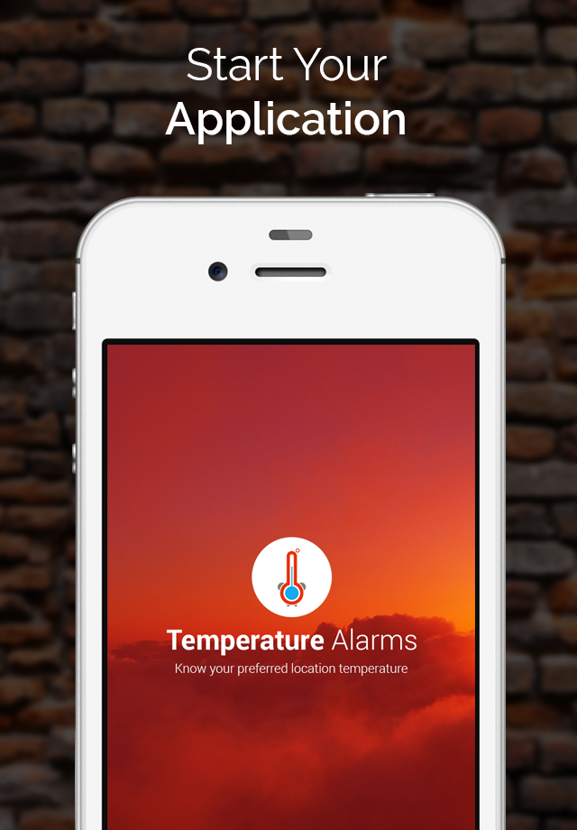 Temperature Alarms iOs/iPhone/iPad Free App Mobile