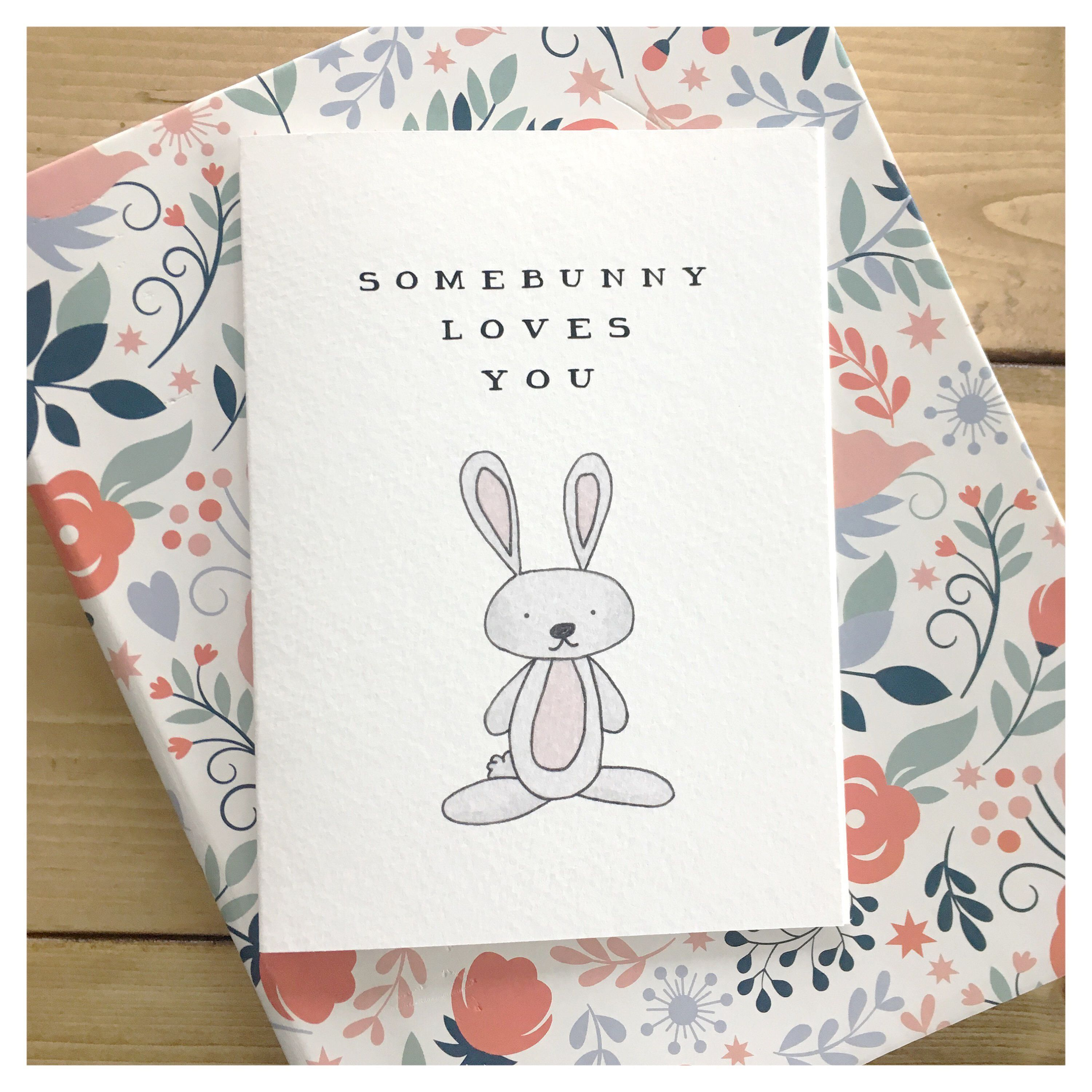 Love card easter card woodland animals woodland animal art love card easter card woodland animals woodland animal art bunny negle Image collections