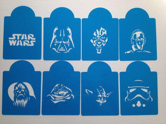 Star Wars Cookie Cupcake Stencils Cake Stencils Set Of