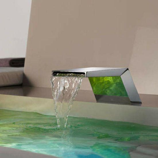 luxuriöser-LED-Wasserhahn Armaturen Pinterest - Moderne Wasserhahn Design Ideen