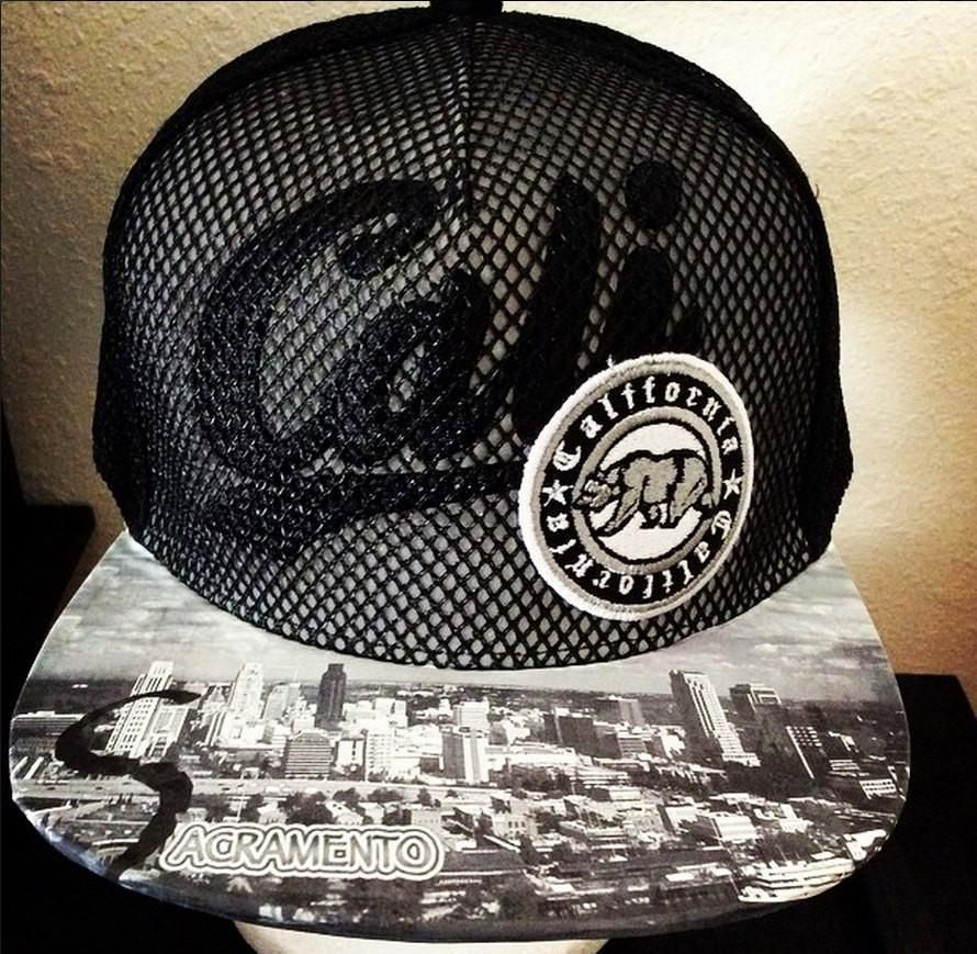 480854900f7 ... cap idzerm1 greece sacramento kings authentic new era snapback or  fitted with custom brim aa594 a96bc ...