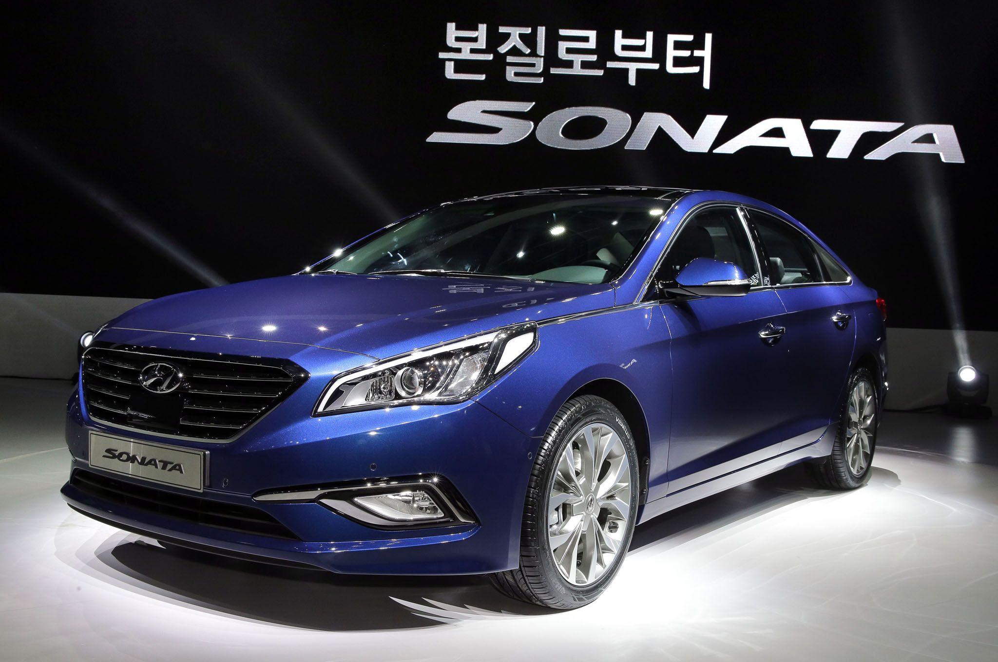 2015 hyundai sonata front design