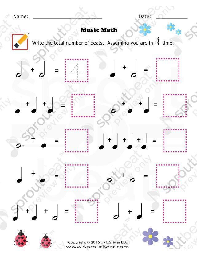 TMTA Level 1 – Note Value | music lesson plans | Pinterest ...
