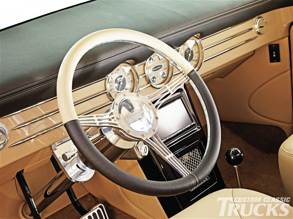 1956 Ford F100 Steering Wheel Photo 14 Classic Trucks Magazine 1956 Ford F100 Ford Roadster