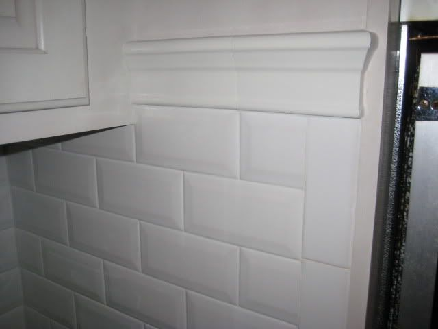 Edge Subway Tile Kitchen Backsplash Used Lanka Beveled Subway Tile Backsplash
