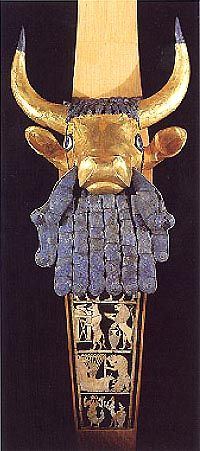 Lapis Lazuli ...From the ancient Mesopotamian city, Ur