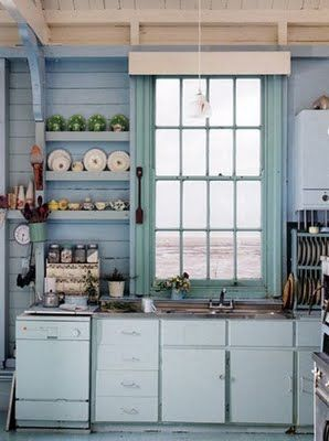 Pin By Allison Ayers On Pendlebury Hill Ideas Seaside Kitchen Home Kitchens Cottage Kitchen