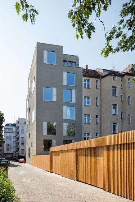 Nordfassade – Haus G – Architekturobjekte