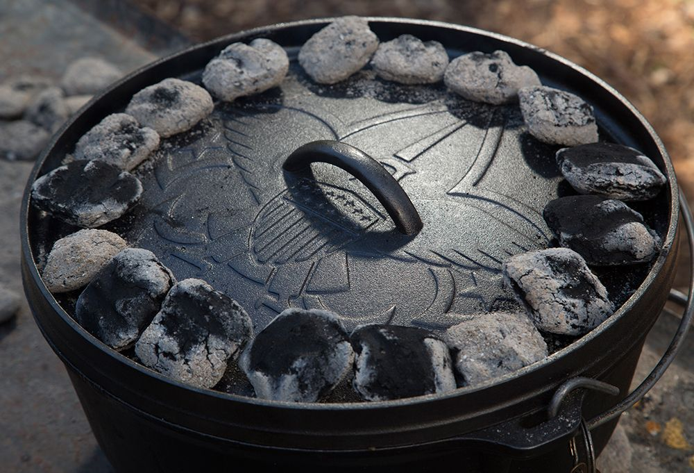 Break out your troop's cast iron pots to create delicious meals using this guide to Dutch-oven cooking guide.
