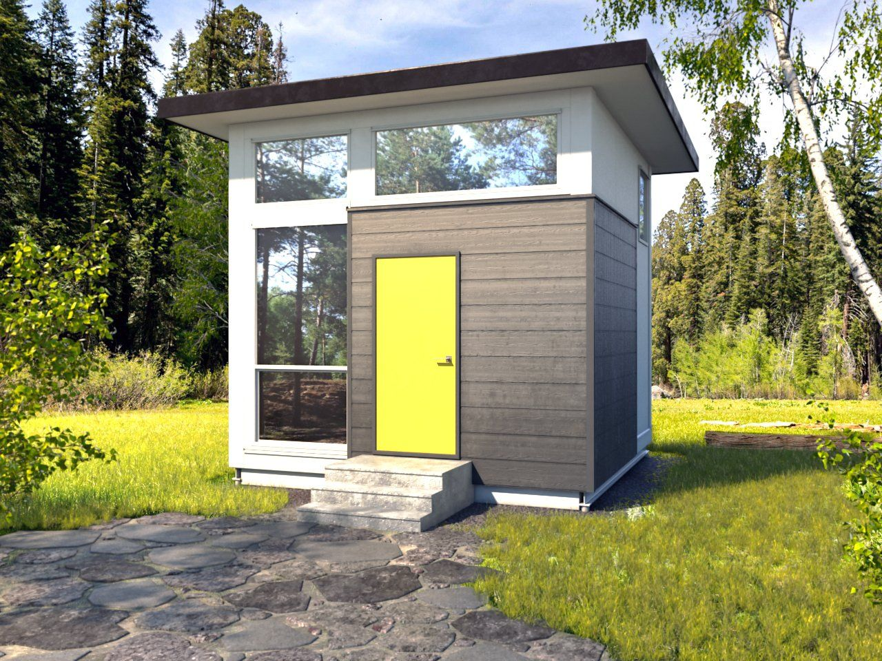 Cube Tiny House By Nomad Micro Homes Micro House Modern Tiny