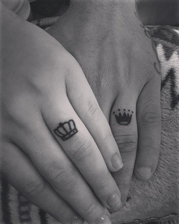78 Wedding Ring Tattoos Done To Symbolize Your Love | Pinterest ...