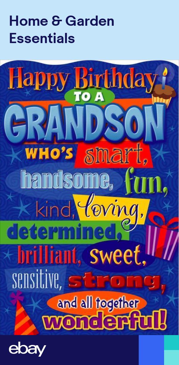Happy Birthday Grandson Birthday Greetings Card Humour Funny Joke New Happy Birthday Grandson Happy Birthday Greetings Friends Grandson Birthday Wishes