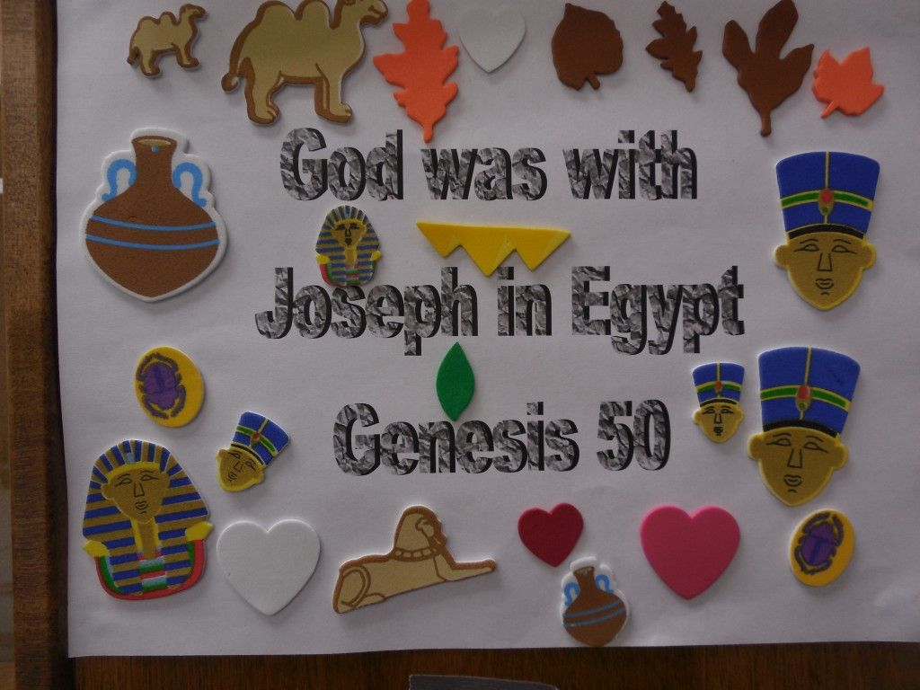 God Is With Joseph Bible Craft