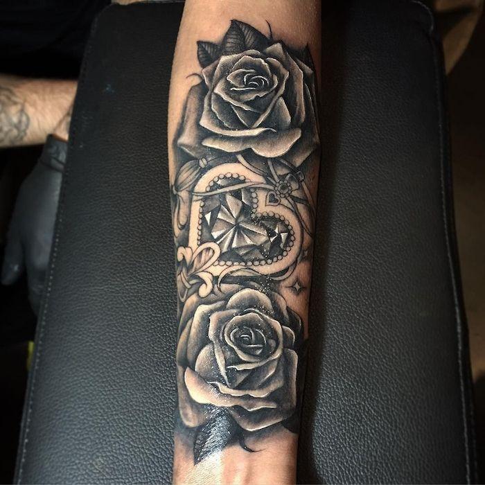 Tatouage Bras Pour Femme Les Manches Se Revelent Aye Tattoo 3
