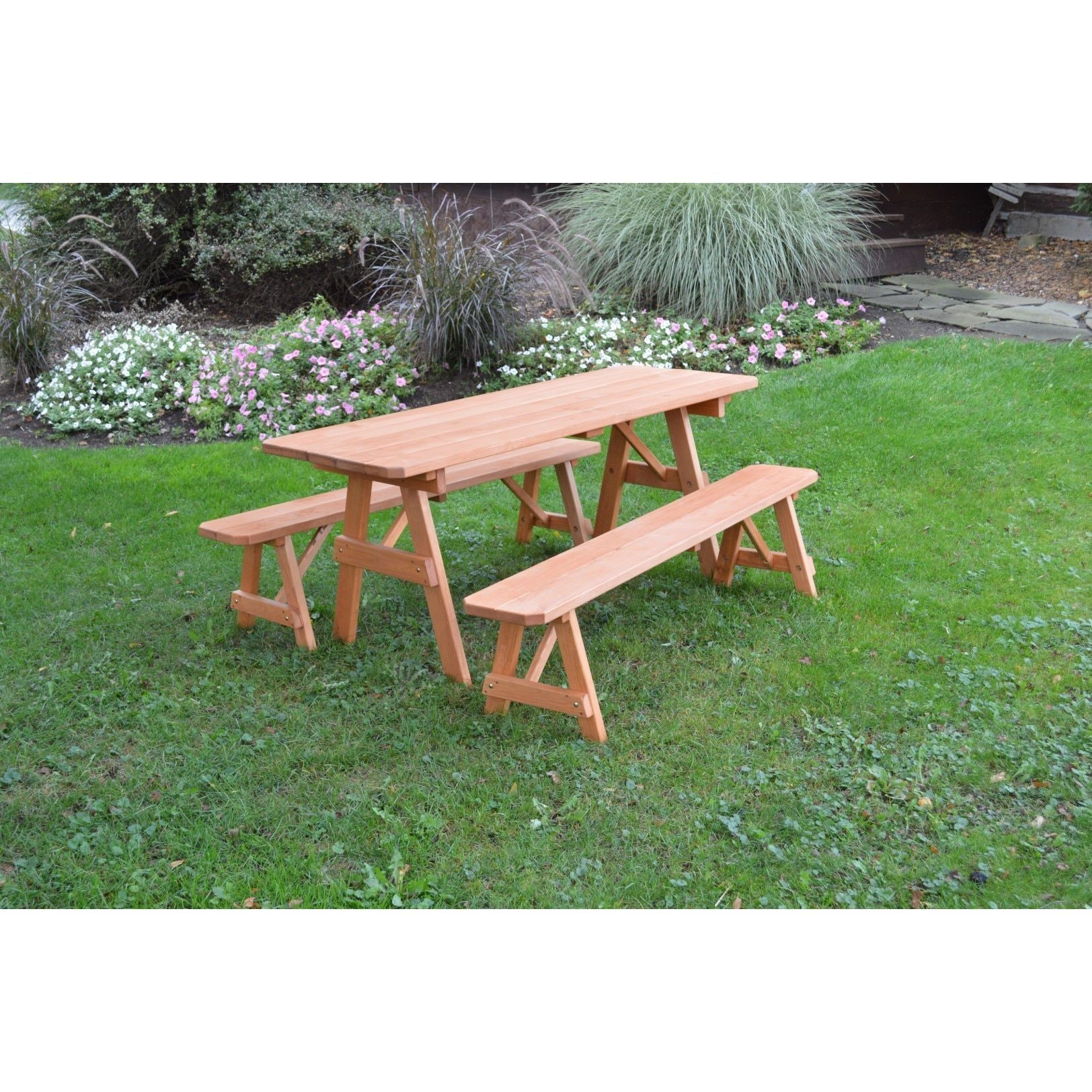 Online Shopping Bedding Furniture Electronics Jewelry Clothing More Picnic Table Cedar Stain Outdoor Deck Furniture