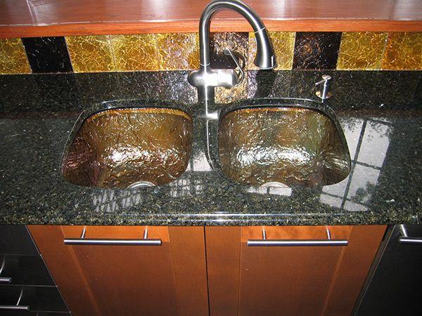 Kitchen Bar Undermount Sinks Glass Kitchen Sink Kitchen