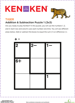 photo about Kenken Printable Puzzles identified as Pin upon กระดาษเครื่องประดับ