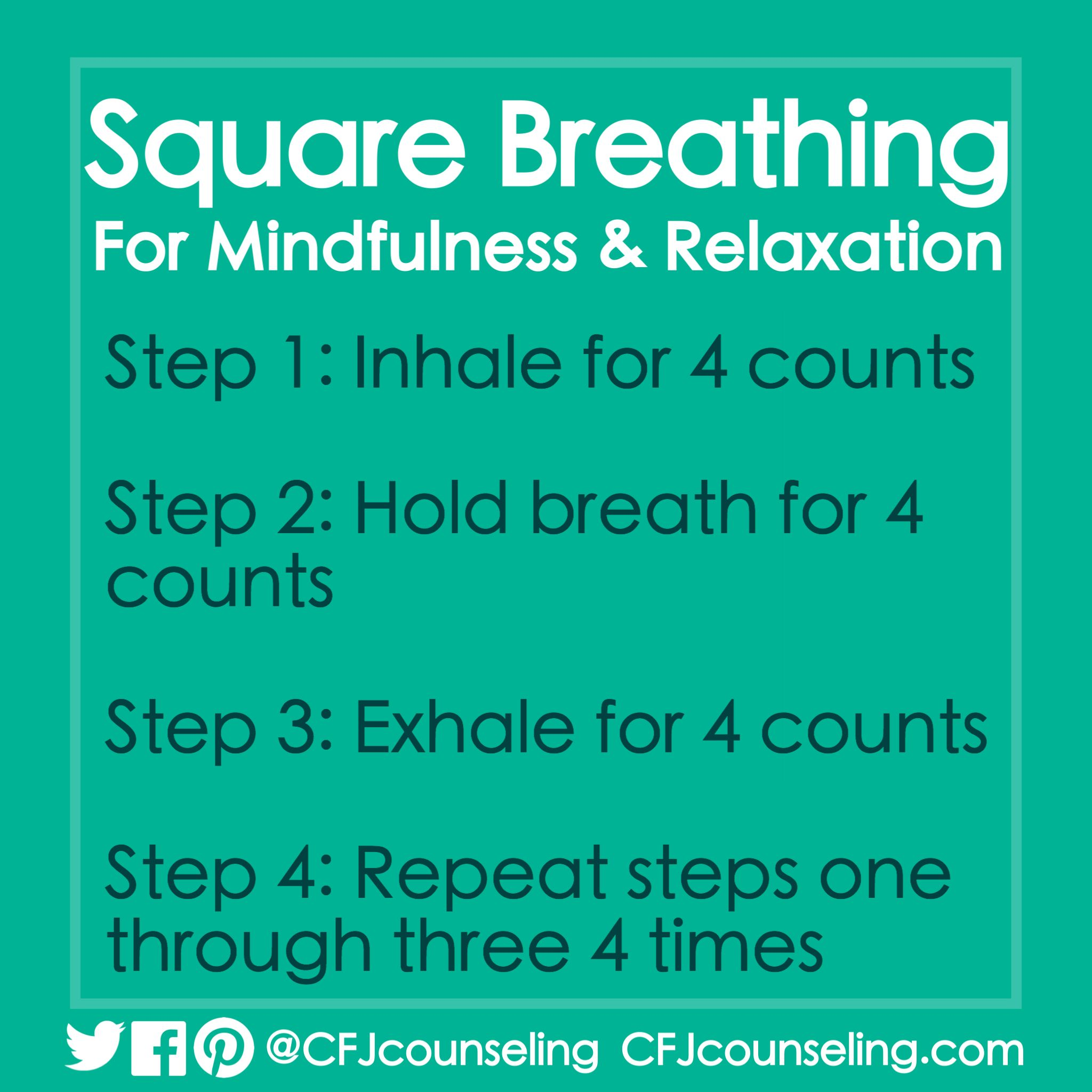 Square Breathing Mindfulness Amp Relaxation Exercise
