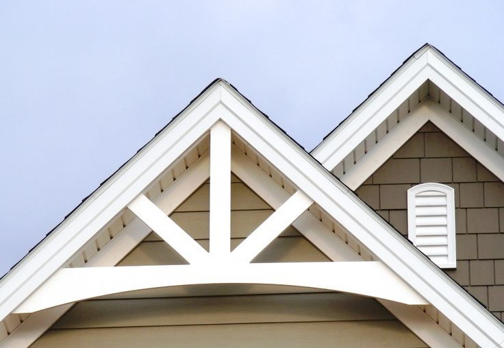 Gable pediment installation google search house styles for Exterior pediments