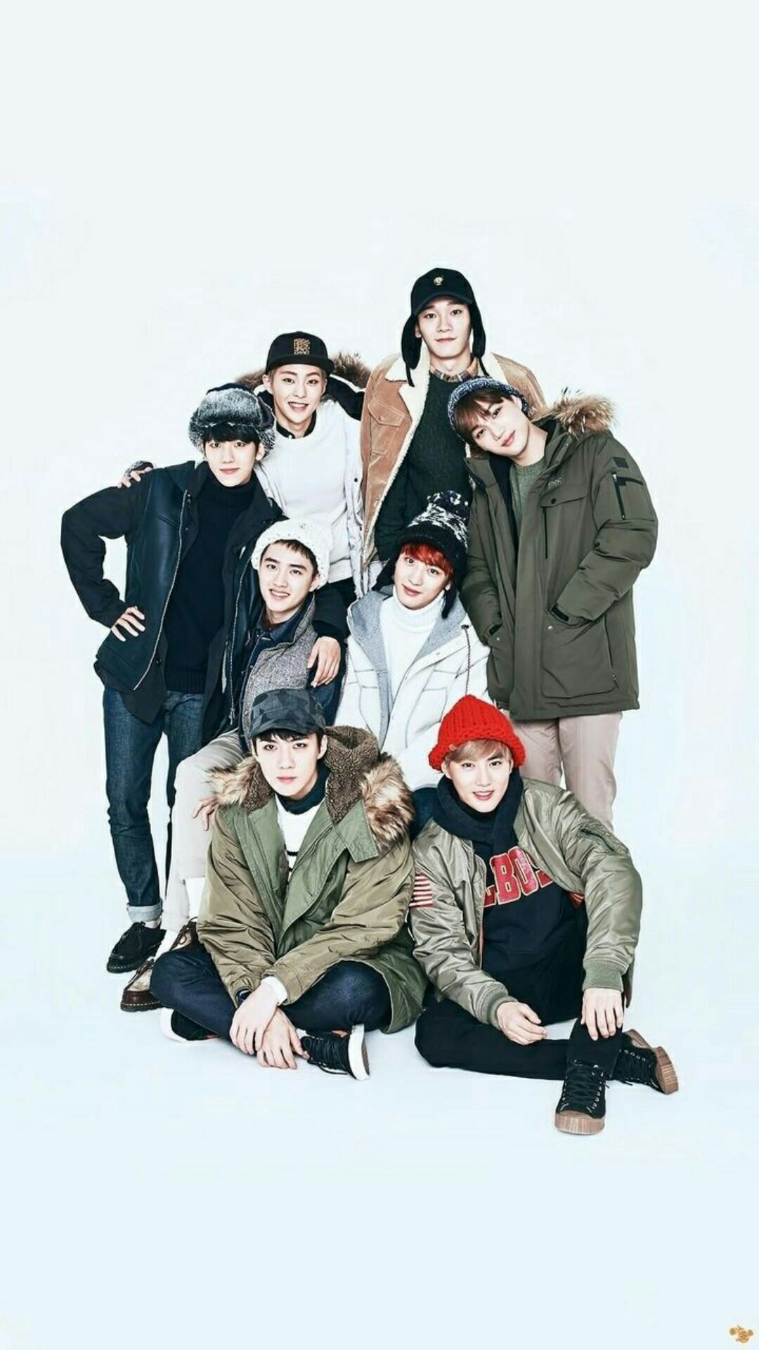 Exo Group Picture : group, picture, Group, Photo
