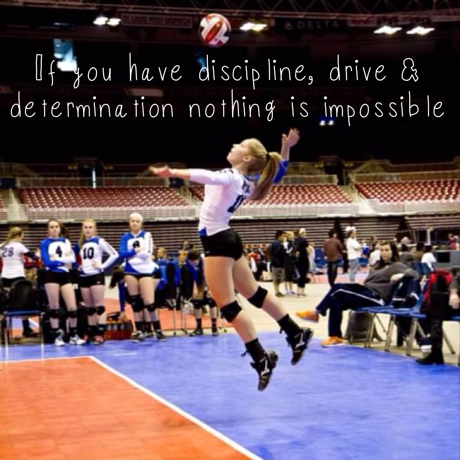 Discipline Drive Determination Volleyball Mybaby Voley Ropa Deportiva Mujer Deportes
