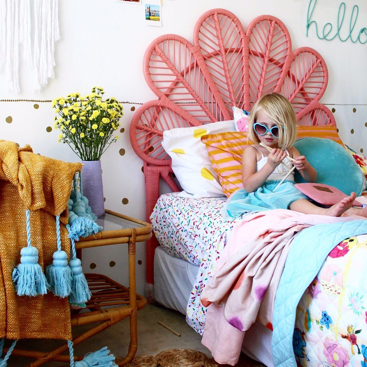 Bohemian Kids Room: Kids Bedding And Decor