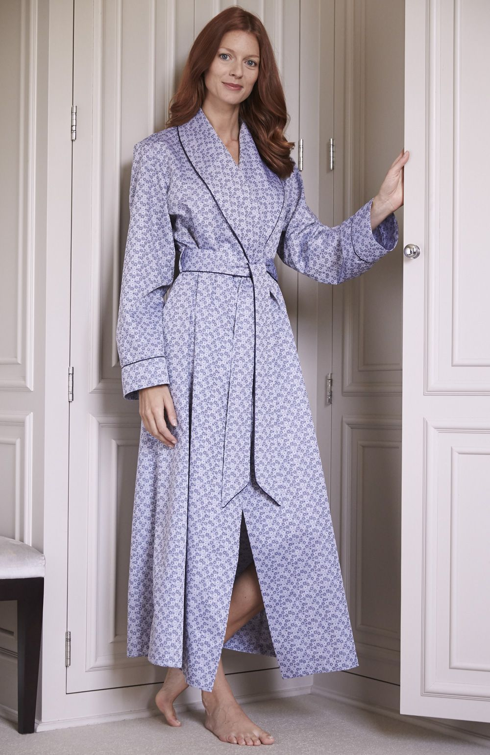 Blossom Jacquard Gown | Jacquard fabric, Gowns and Pyjamas