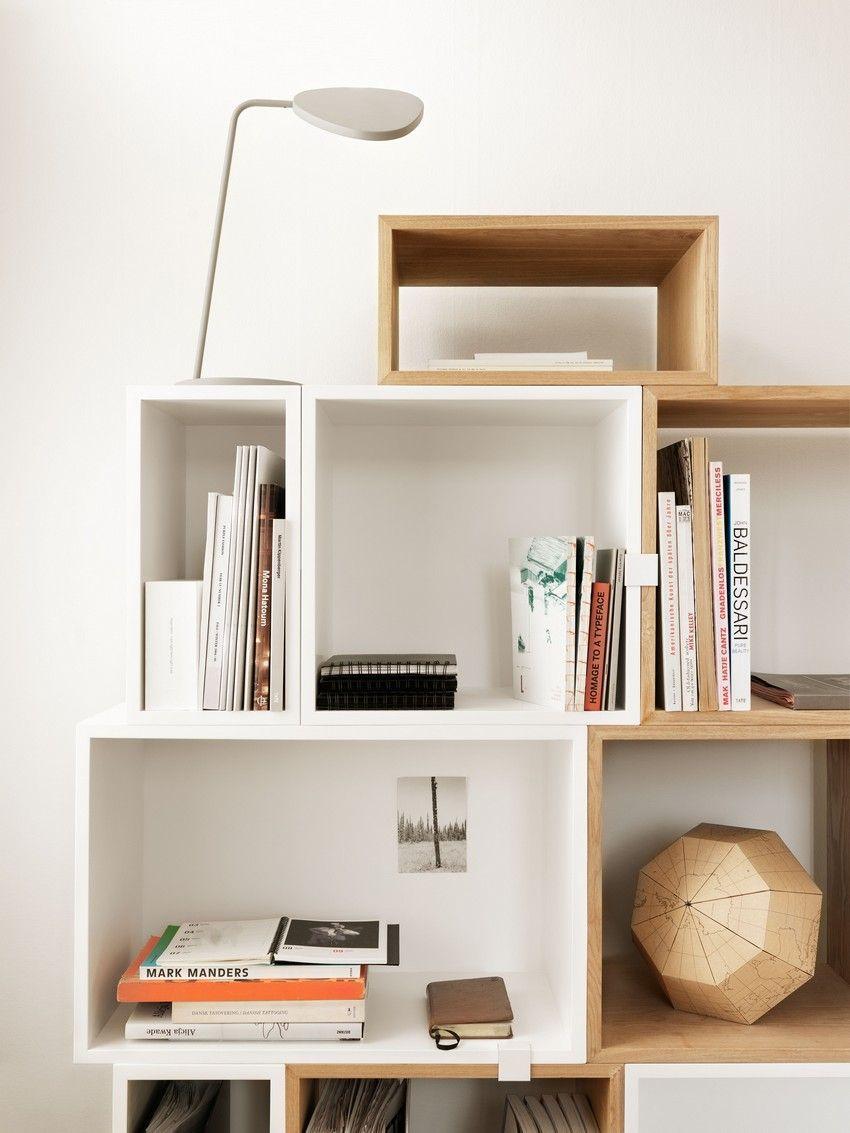Muuto - Designs - Storage - Stacked Shelf System - Designed by JDS Architects - muuto.com