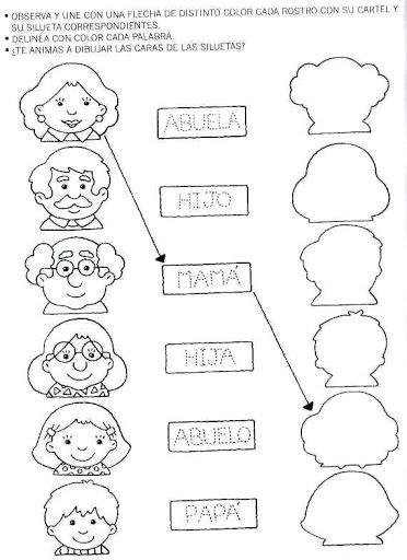 Actividades Para Casa De Preescolar Fichas Con | hojas de trabajo ...