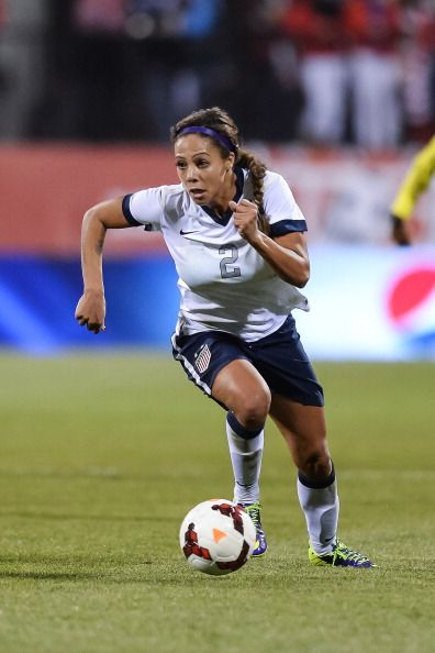 Sydney Leroux was the youngest member of the U S  Women's
