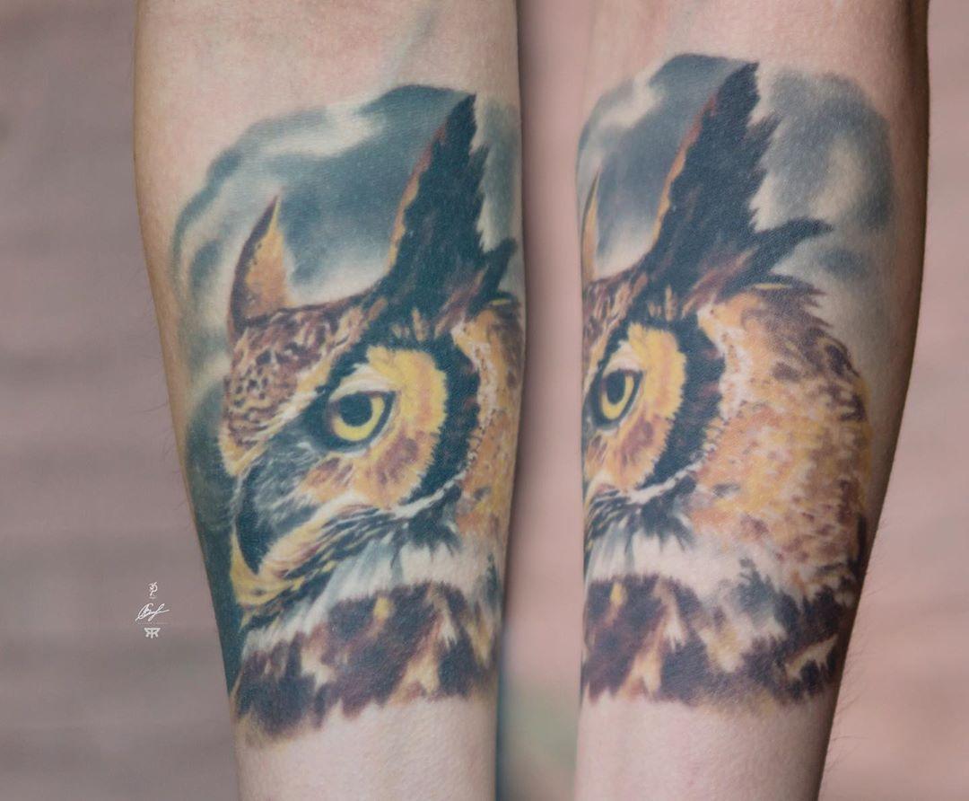 Full healed. 4 years later. in progress.  #owltattoo #realistictattoo #colortattoo #tattoo #tattoos #tattooart #tattoolive #tattooartist #tattooist #tattooing #ink #inked #inkedpeople #tatuaje #tat #tats #tattooinrussia #tattooinmoscow #tattooinrussia #healedtattoo #radiantcolorsinkeurope #radiantcolorsink #druidbalm #tattoomarket #alexander_slobodyan @radiantcolorsink @radiantcolorseurope @tattoodruid @tattoomarket