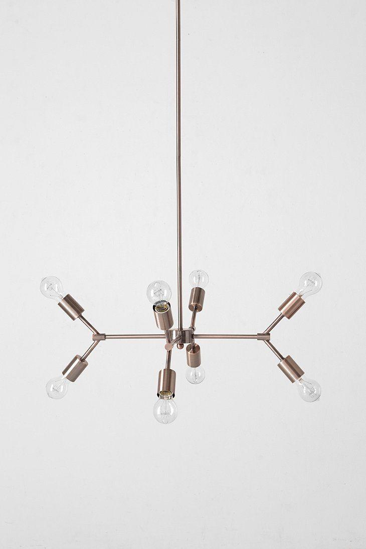4040 Locust Copper Pipe Pendant Urban Outers Master Br Light