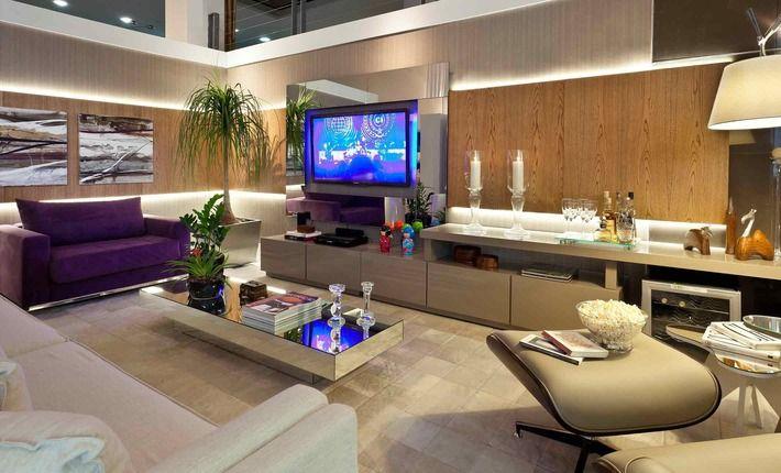Sala De Tv Com Quadro ~ Mais que uma sala de televisão, pretende ser um espaço de