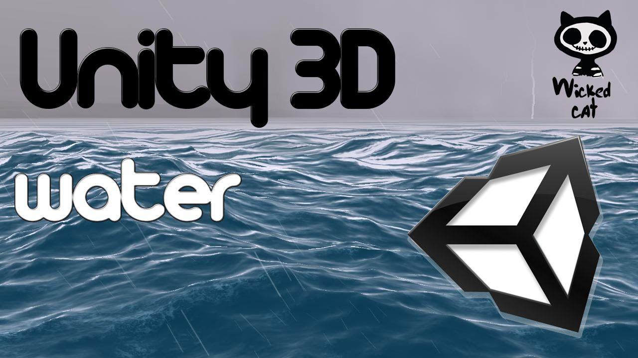 Unity 3D Lesson 4 - Water 4 | 3D - Unity in 2019 | Unity 3d, Unity