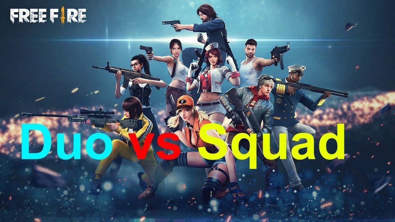 Free Fire Duo Vs Squad Survival Games Fire Image Free Online Games