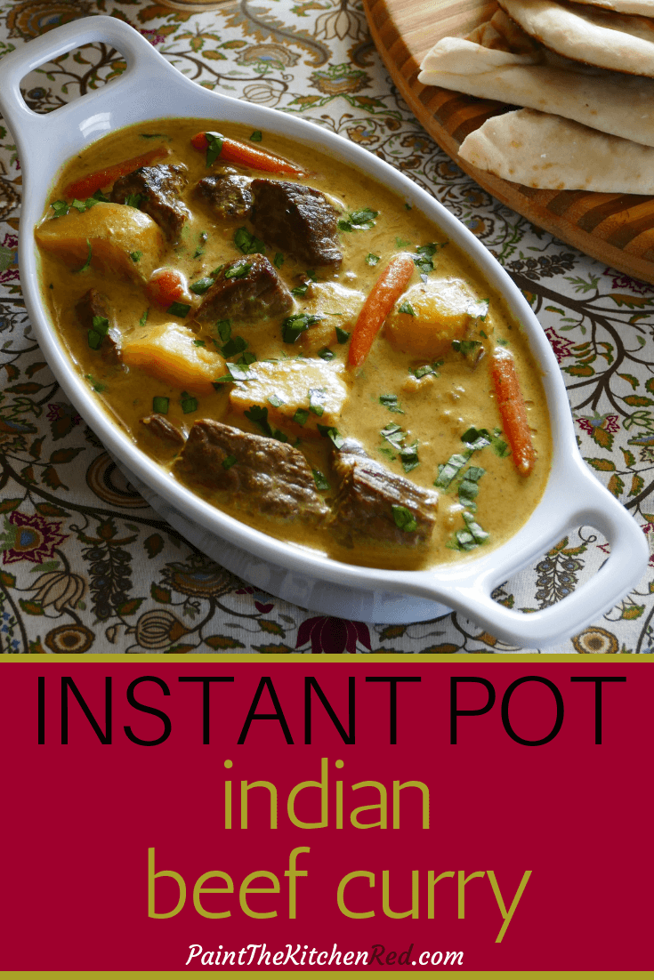 Instant Pot Indian Beef Curry With Coconut Milk Unbelievably Good Recipe Beef Curry Instant Pot Beef Recipes