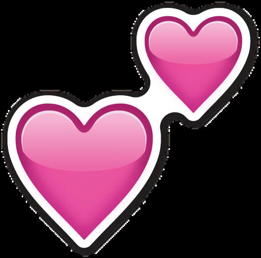 Two Hearts Emoji Emoji Stickers Telegram Stickers