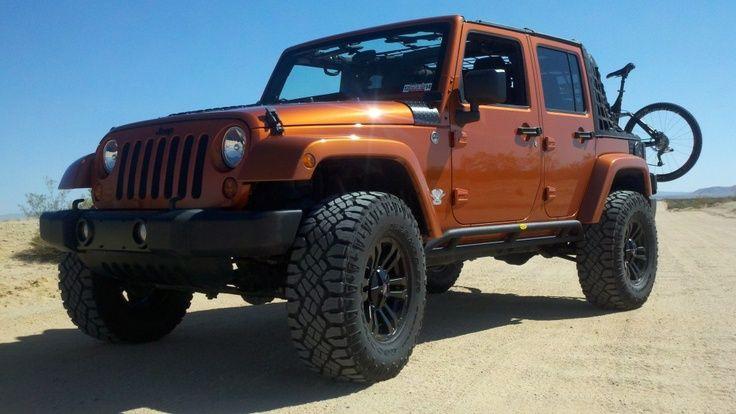 Burnt Orange Jeep Recherche Google With Images Orange Jeep