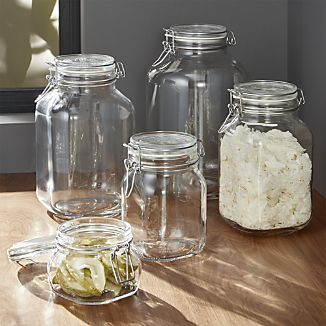 Fido Jars With Clamp Lids Pantry Jars Mason Jar Storage Jar